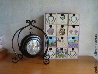 """Комод """" Provence Lavender"""" - комодик с розочуами,комодик романтика,романтика"""