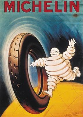 * publicité Michelin 1925 Albert Philibert (?)