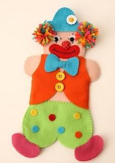 clown felt