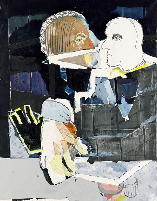 Magnus Plessen — Ohne Titel (Untitled)