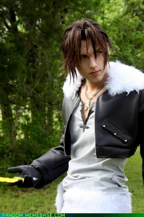 Squall - FF: Squall Cosplay, Awesome Cosplay, Cosplay Awesome, Fantasy Cosplay, Amazing Cosplay, Squall Leonhart, Fantasy Viii, Brilliant Cosplay, Finals Fantasycosplay
