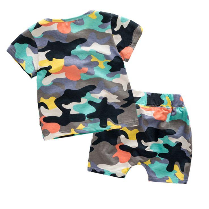 $24.16 (Buy here: https://alitems.com/g/1e8d114494ebda23ff8b16525dc3e8/?i=5&ulp=https%3A%2F%2Fwww.aliexpress.com%2Fitem%2F2-7-yrs-new-fashion-baby-boy-clothes-suit-2016-summer-T-shirt-loose-shorts-elastic%2F32676857042.html ) 2-7 yrs new fashion baby boy clothes suit 2016 summer T-shirt loose shorts elastic waist hot sale children kids clothing cotton for just $24.16