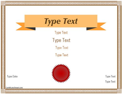Best 25+ Blank certificate template ideas on Pinterest Blank - First Aid Certificate Template