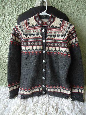 Label: Viking Knit, handmade in Norway