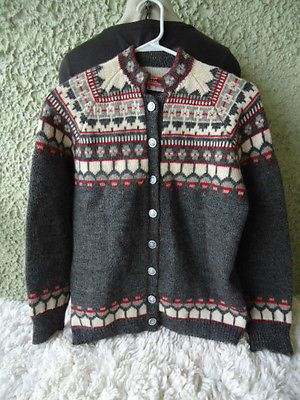 Label: Viking Knit, handmade in Norway