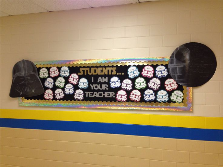 Star Wars Bulletin Board for Back to School