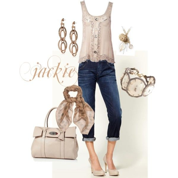 Summer Neutral, created by jackijons on Polyvore
