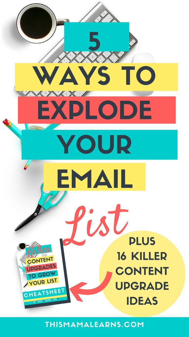 Looking for ways to grow your email list? Not sure why nobody is signing up for…