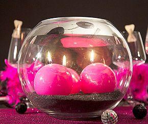 Le Vase Géant Boule en Verre Centre de Table Luxe. Décorez votre évènement grâce à mariage.fr, numéro 1 des boutiques de décoration mariage en France. décoration mariage, decor mariage, wedding, candle, bougie