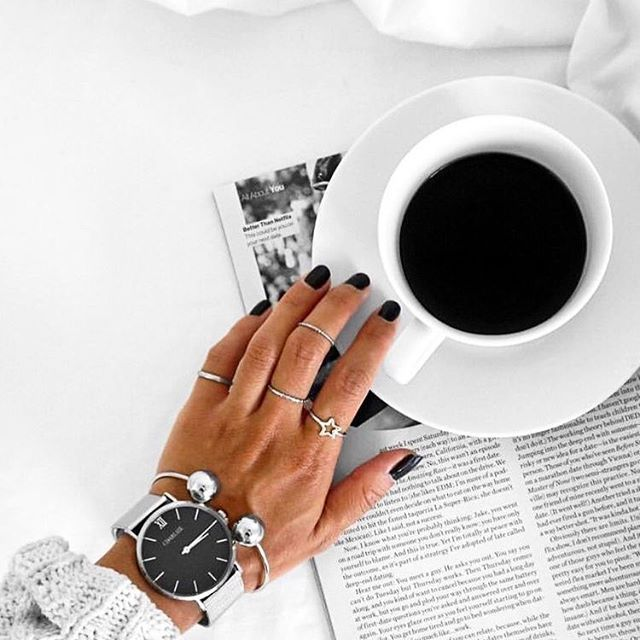 Começando o dia com um bom café ☕️