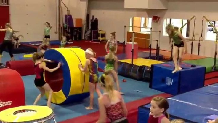 American Ninja Warrior Course at Twisters Gymnastics