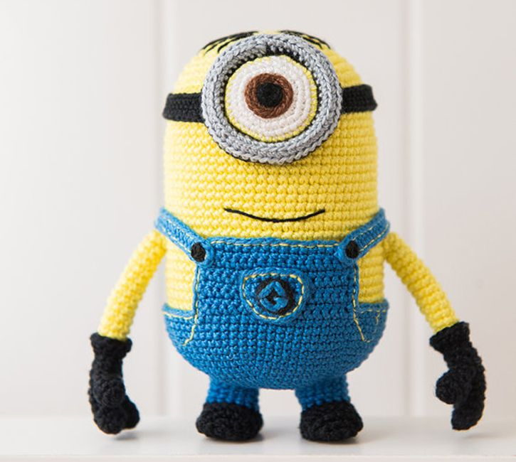 Free Crochet Pattern For Minion Eyes : 17 Best images about Best CROCHET Tutorials and Patterns ...