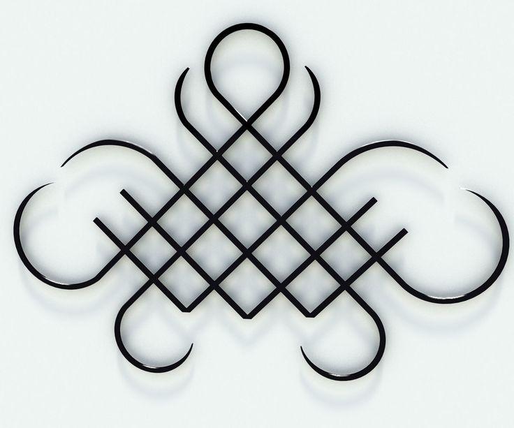 tribal tattoo 3d model max obj 3ds fbx stl blend 1