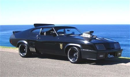 Mad Max's 1973 Ford Falcon Pursuit Special XB GT, aka Interceptor