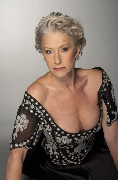 Older female model