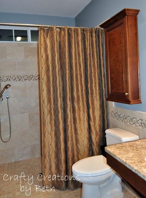 wheelchair accessible bathroom remodel beyond the screen door