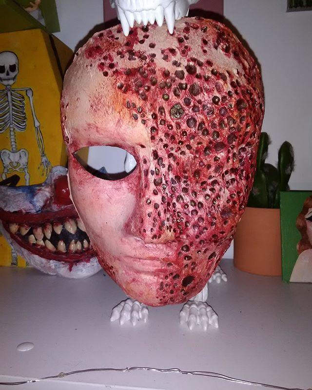 My First Attempt At A Trypophobia Mask Any Ccw Xpost From Https