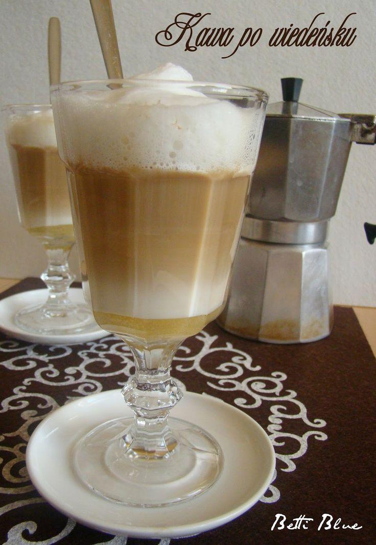 Kuchnia Betti: Kawa po wiedeńsku