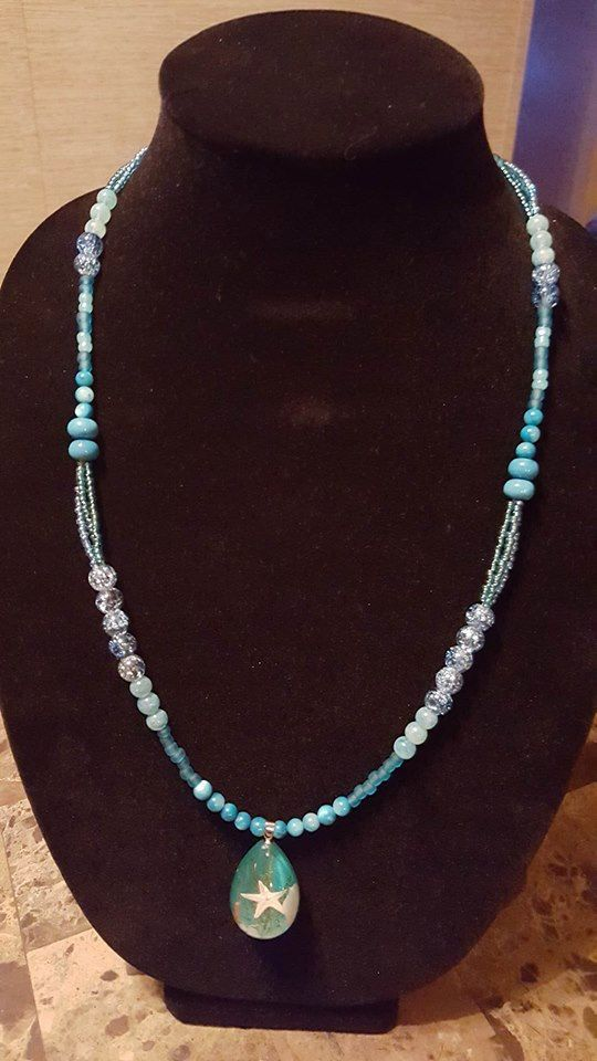 Handmade in Maine Necklace by CCoastalCreations on Etsy