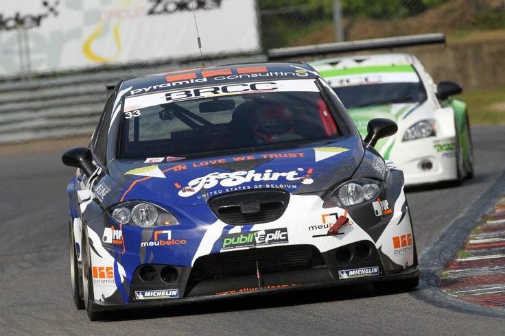 Belgian Racing Car Championship. Nicolas Jussy (Tourism Pro class) with León Supercopa at Zolder circuit.