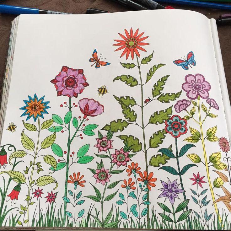 Ben her bahar aşık olurum @cihancepni  #art #artwork #arı #bee #butterfly #book #bahar #brightcolors #color #coloring #çiçek #coloringbook  #drawing #esrarengizbahçe #flowers #hobby #johannabasford #kitap #kelebek #leaf #mevsim #painting #renk #renkler #secretgarden #terapi #therapy #yaprak #spring #love