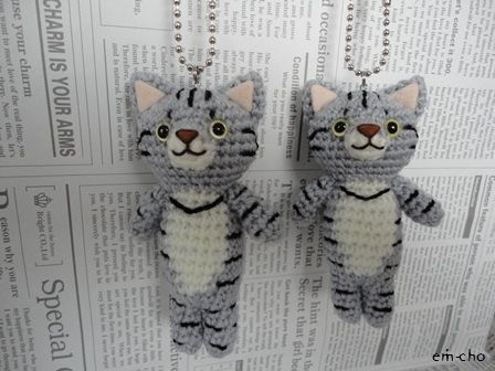 Amigarumi crochet free pattern on this site...have to look a little and translate...but they are so dang cute..that I think it is worth the effort...!!