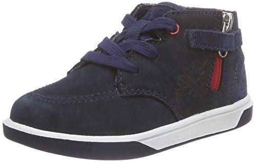 Timberland Groveton_Groveton Chukka with Big, Unisex-Kinder Hohe Sneakers, Blau (Black Iris Nubuck), 34.5 EU - http://uhr.haus/timberland/timberland-groveton-groveton-chukka-with-big-34-5