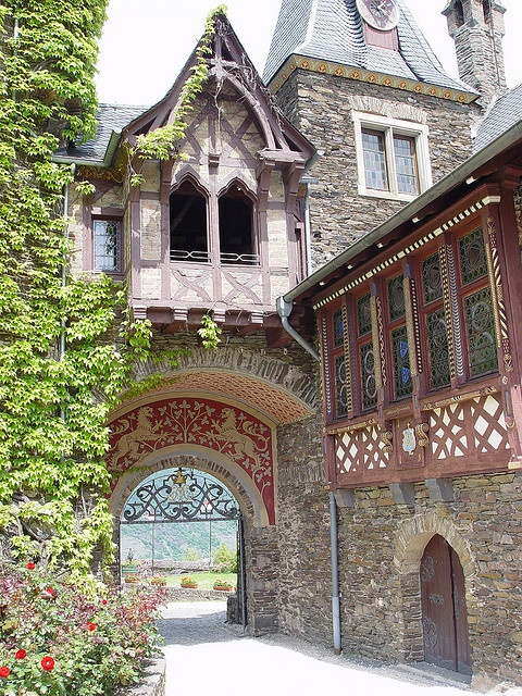 This photo was taken on May 30, 2004 in         Cochem, Rhineland-Palatinate, DE,