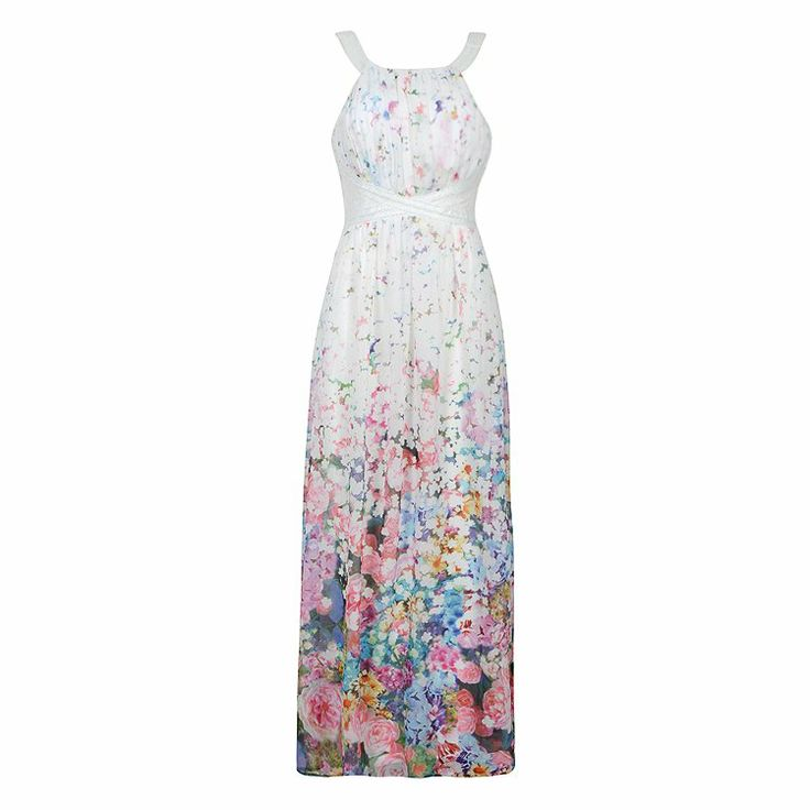 FLORAL MAXI DRESS W BEADS = $49.99 (for wedding)