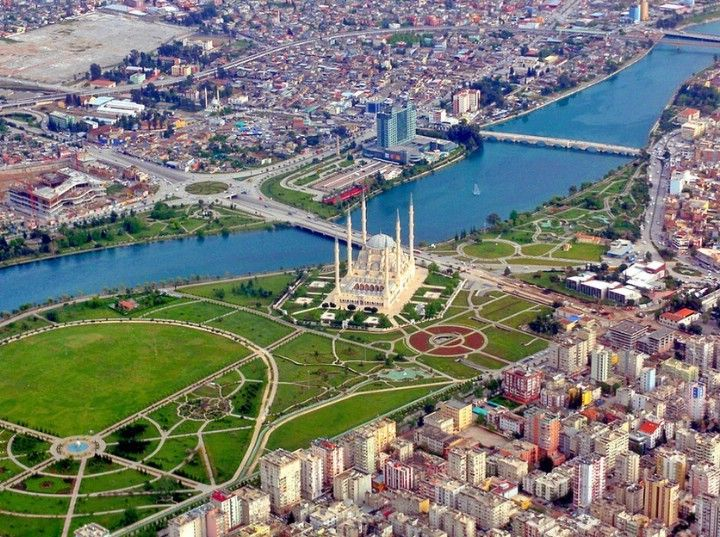 Adana City, Turkey just 20 min or so from where we will be