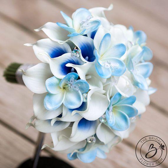 Popolare Oltre 25 fantastiche idee su Bouquet da sposa blu su Pinterest  YA67