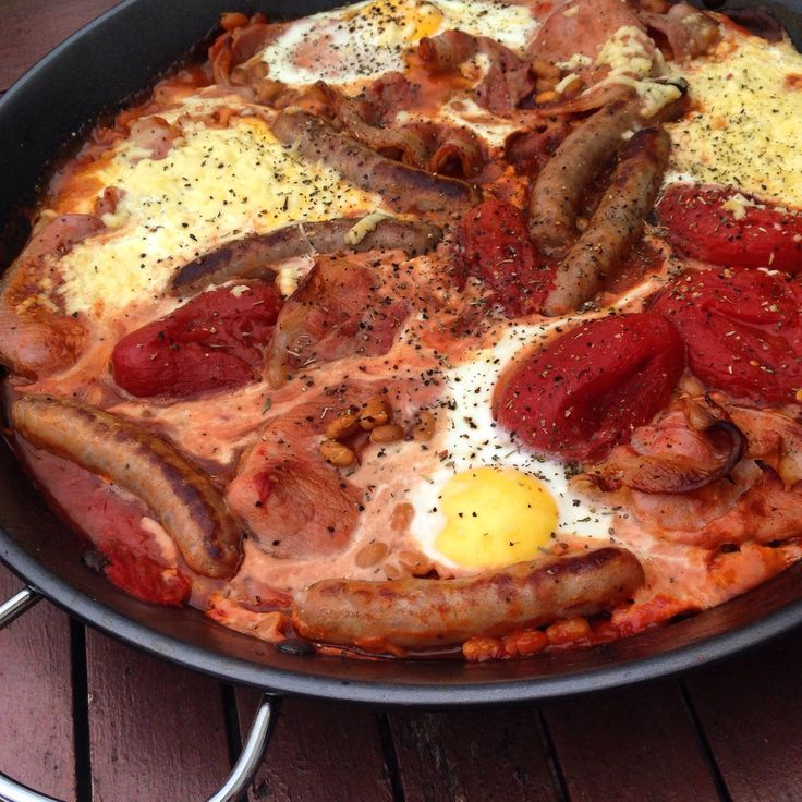 How to Cook a Full English Breakfast in One Pan