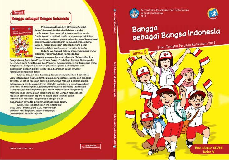 Edisi Revisi Buku Tematik Kurikulum 2013 SD/MI Kelas 5 Tema 5 Bangga sebagai Bangsa Indonesia Format PDF