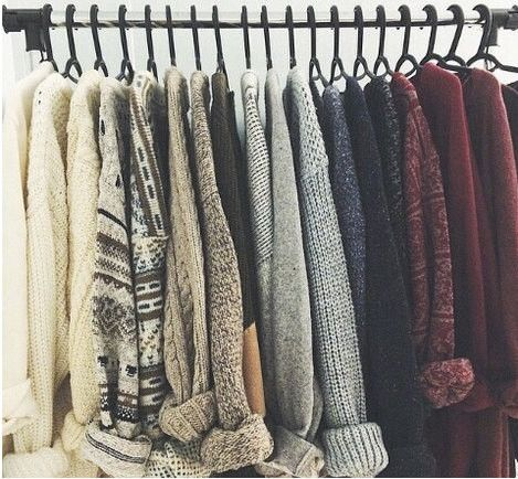 Awesome! Mystery Sweaters - Over-sized Mystery Sweaters: All Hipster Colors - All Grunge Patterns.