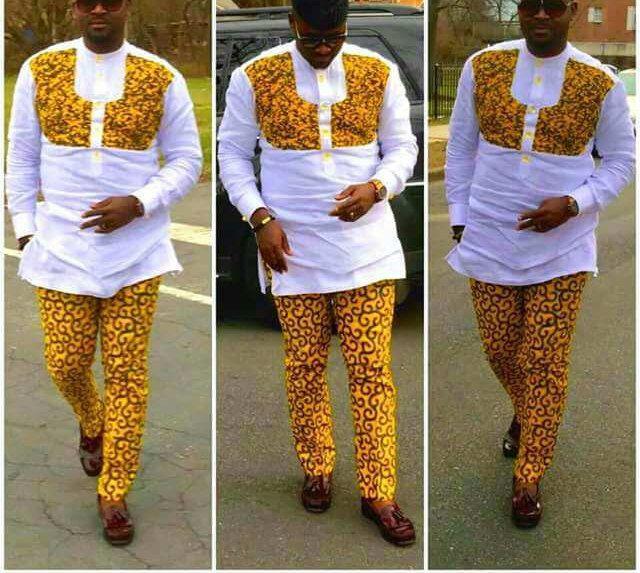 Nouveau vêtement africain pour les hommes haut et bas pour