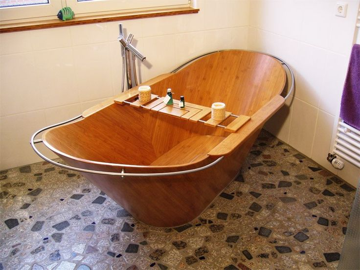 1000 Products Made from Bamboo Bathtubs, Bath tubs and Tubs - freistehende holz badewanne hinoki holzkollektion