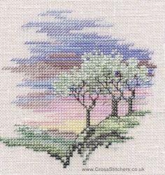 Frosty Trees - Minuets - Cross