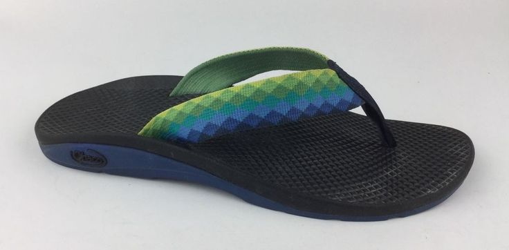 Chaco Womens Multi Color Flip Flops Sport Sandals Sz US 8  | eBay