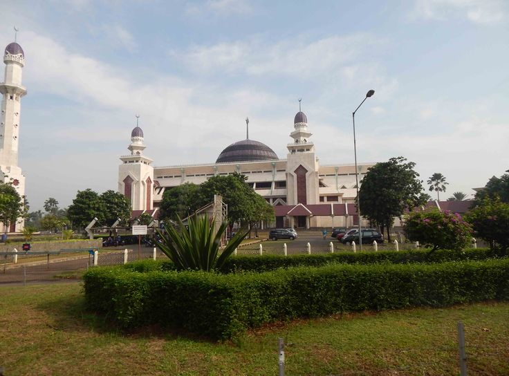 At-Tin Mosque. One of beauty mosque in Jakarta