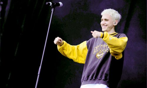 Olly Alexander during Years & Years set at Longitude Festival, Dublin, Ireland (18/07/2015)