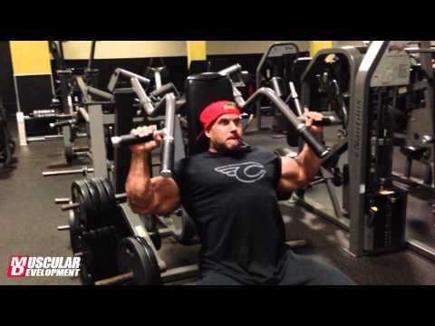 Jay Cutler Bodybuilder- Shoulder Workout | Muscular Development