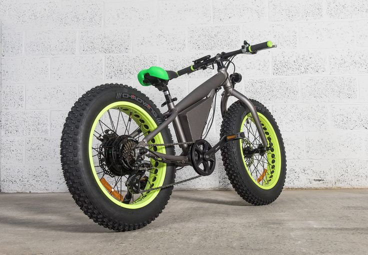 A cool yet stable and comfortable electric bike for children.
