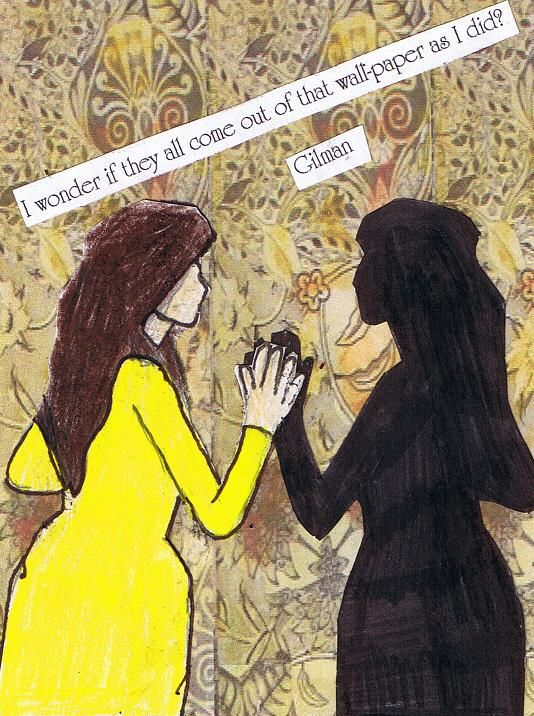 the yellow wallpaper a womans struggle A similar theme is threaded throughout charlotte gilman perkin's the yellow  wallpaper in that the female protagonist is also a writer who is struggling with her .