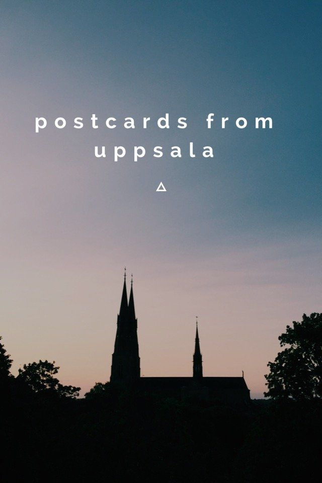 Check out my story on @stellerstories I've gathered a few of my favorite photos that I've taken in Uppsala this summer and created a little story of postcards. I am just. Blown away by the beauty of this place. Take a little peek + see how gorgeous it is in the city I now call home. ❤️