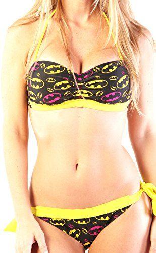 Dc Comics Batgirl Bandeau-String Bikini   Geek Armory