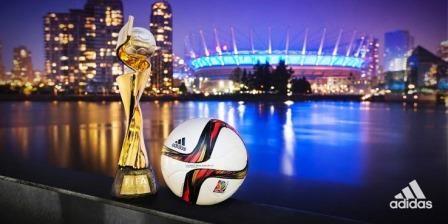 La final de la Copa del Mundo de Fútbol Femenino se jugará con el balón Adidas Conext 15