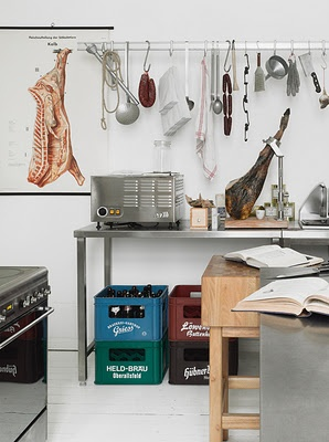 1/3 Hobby Room.  Meat processing.