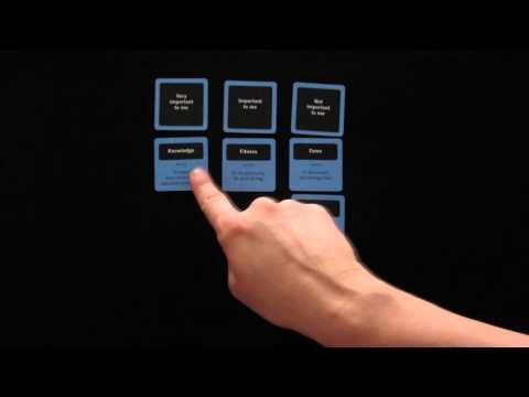 Play with the Value Cards to find out what really matters to you. This video shows you how!
