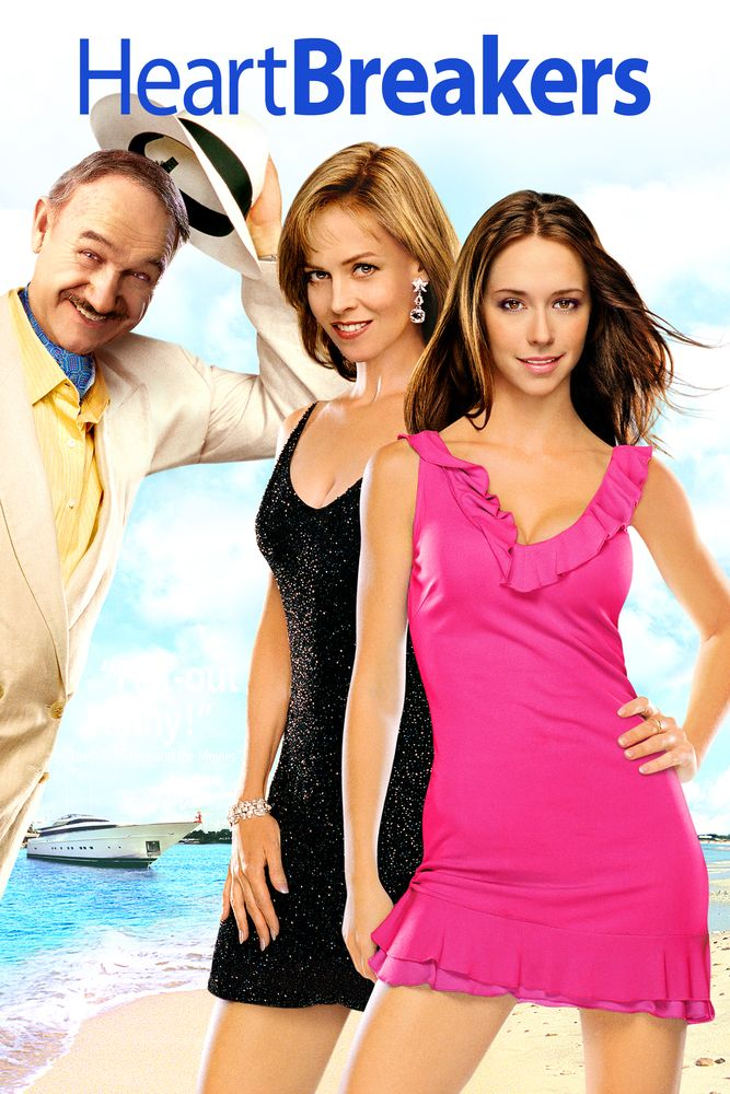Heartbreakers (2001) Movie Poster - Sigourney Weaver, Jennifer Love Hewitt, Ray…