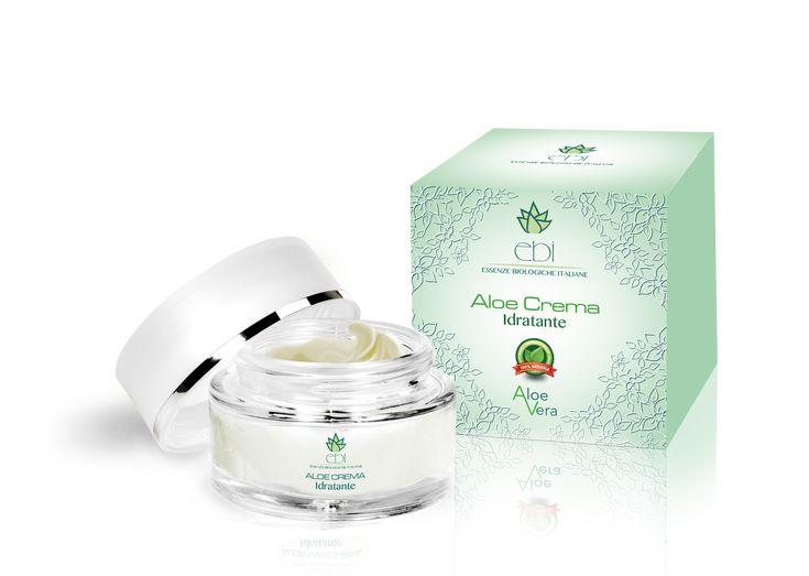 Crema idratante a base di Aloe Vera 100% naturale. Apporta una profonda e duratura idratazione. Ideale per tutti i tipi di pelle.